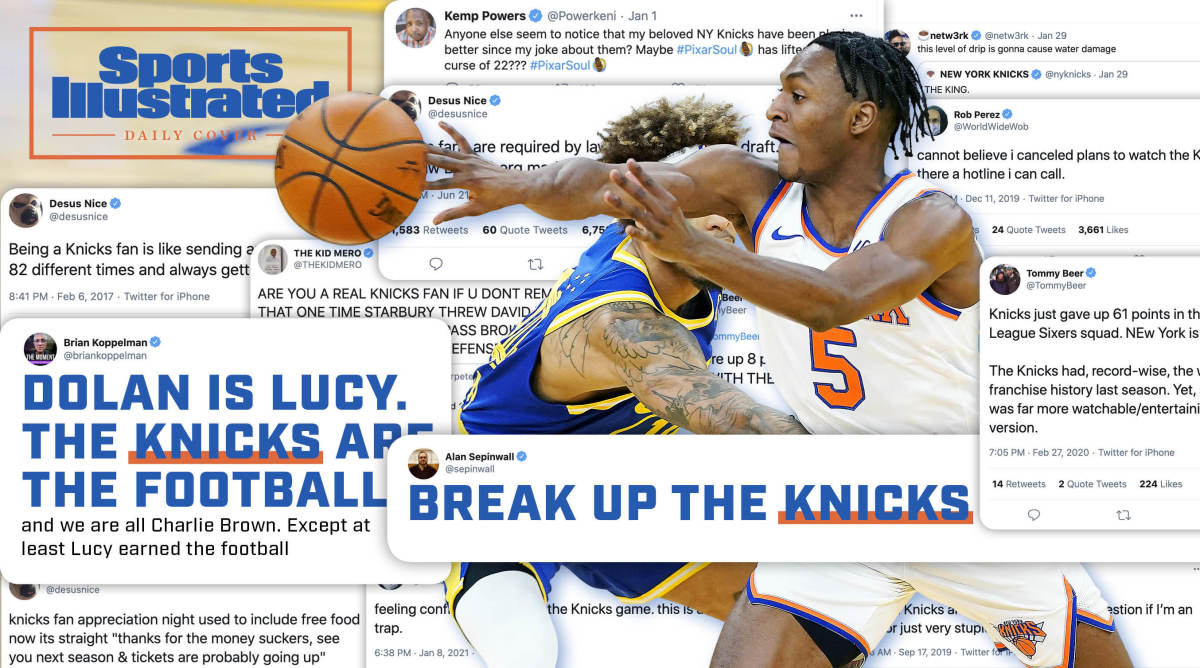 Masochism and Magical Thinking: Knicks Twitter in This Maybe Kinda Respectable Season