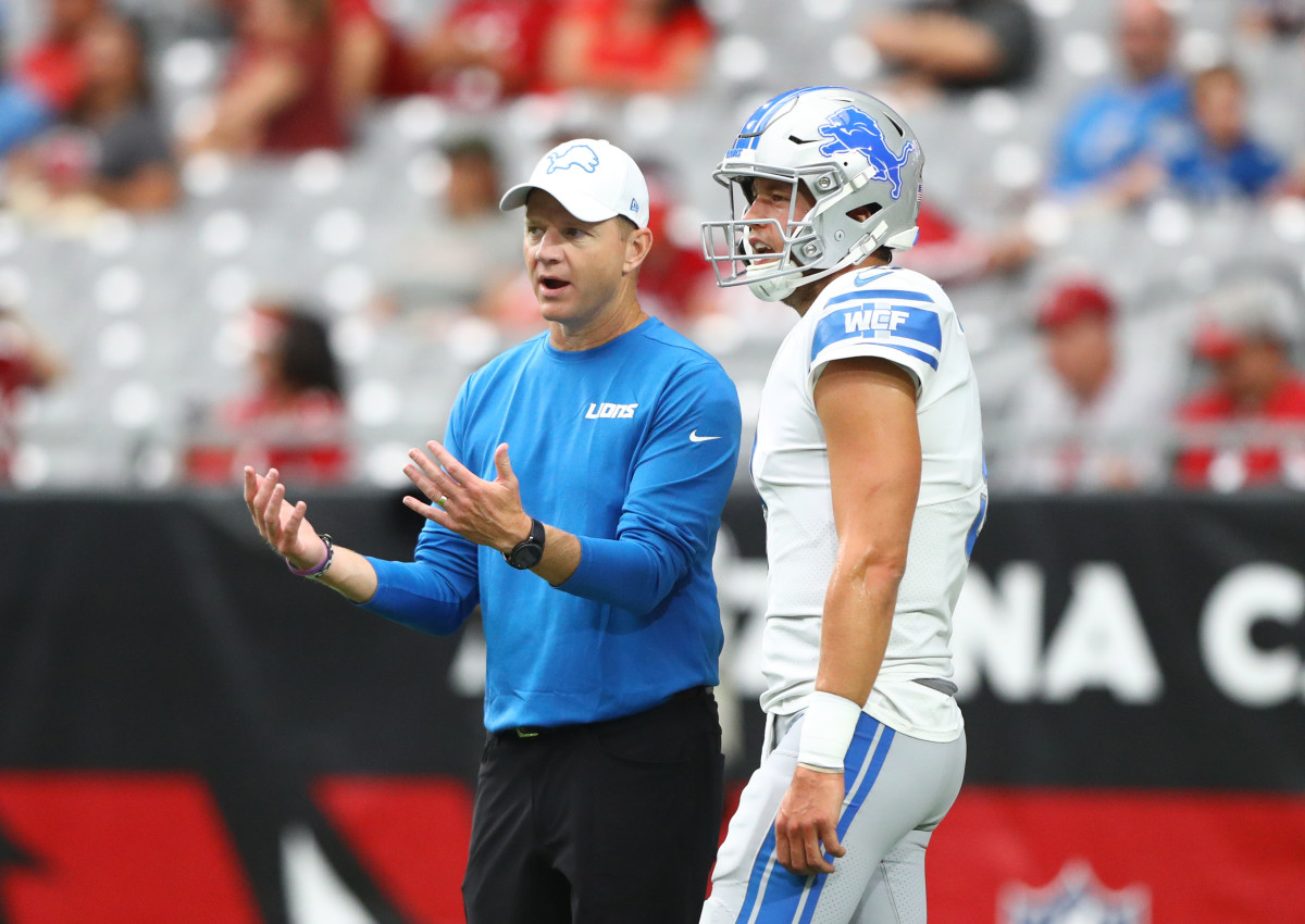 Matt Stafford is the latest in a list of impressive QB's with whom Bevell has worked. Mandatory Credit: Mark J. Rebilas-USA TODAY Sports