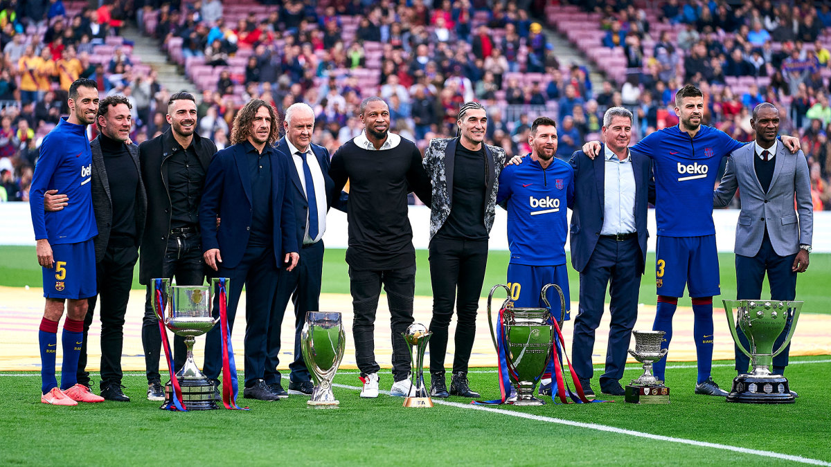 Barcelona's sextuple of trophies