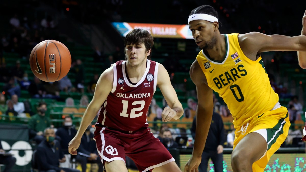 Oklahoma senior Austin Reaves leads the team in points, rebounds and assists per game.