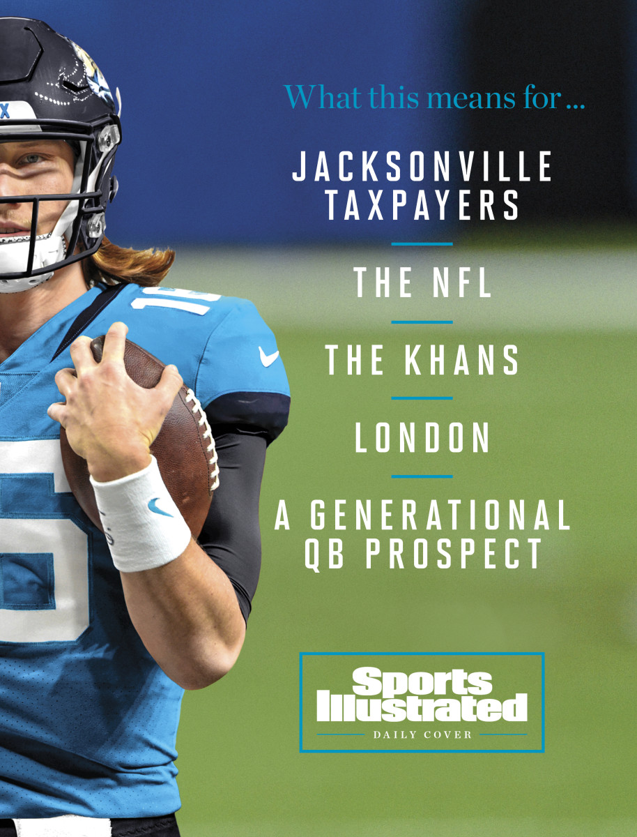 Trevor Lawrence Sports Illustrated daily cover