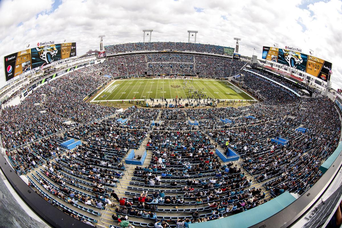 TIAA Bank Stadium in Jacksonville