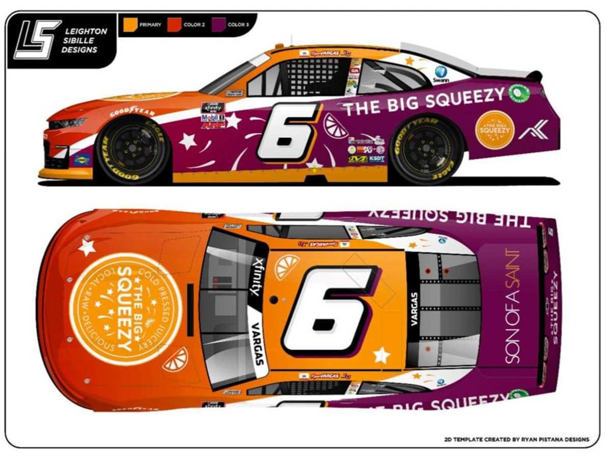No 6 NASCAR
