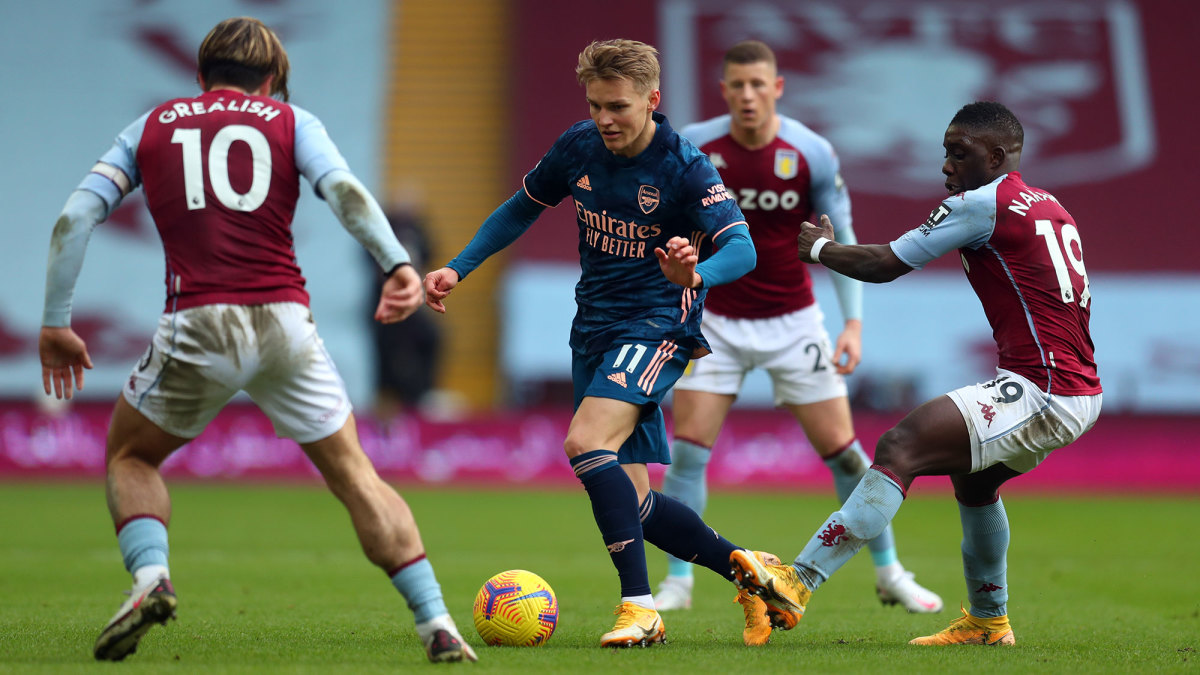 Martin Odegaard is on loan with Arsenal