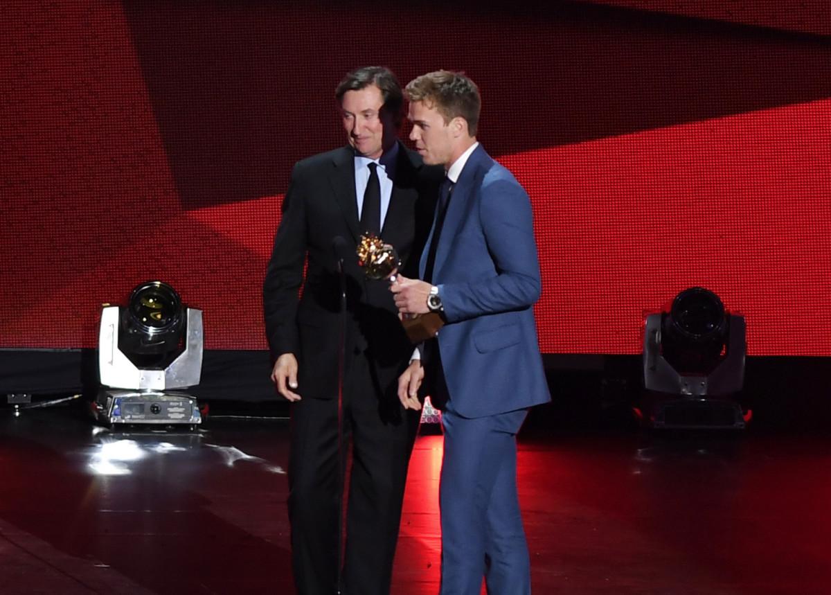 Wayne Gretzky and Connor McDavid