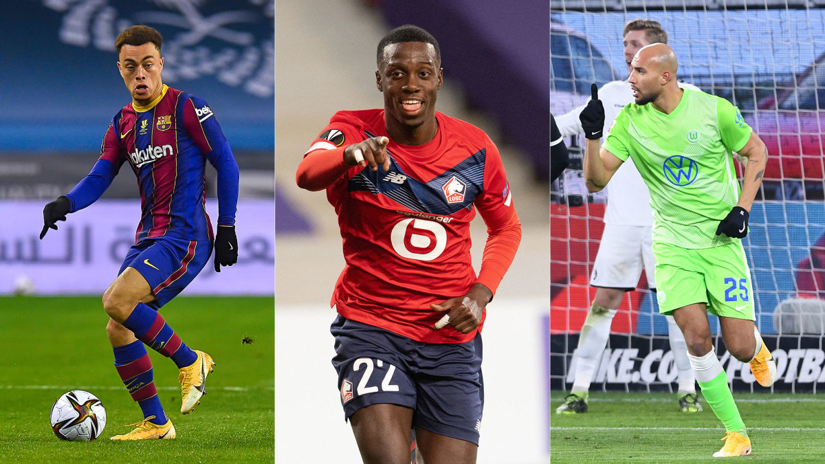Sergiño Dest, Tim Weah and John Brooks could all be in next season's Champions League.