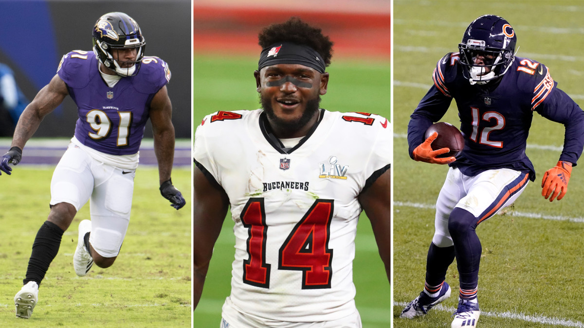 Yannick Ngakou, Chris Godwin and Allen Robinson could all be considered for franchise tags.
