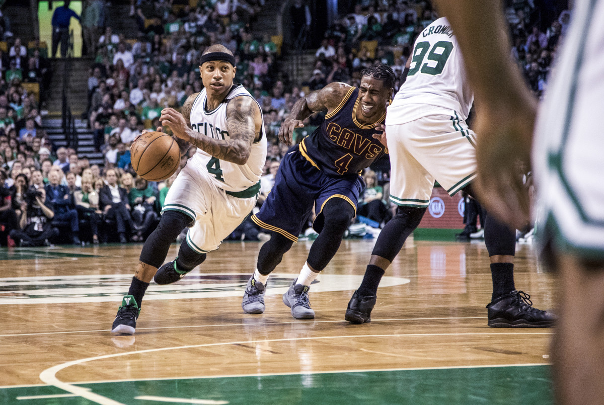Thomas at his peak, in 2016–17, scored 28.9 points per game and took Boston to the Eastern Conference finals, against Cleveland.