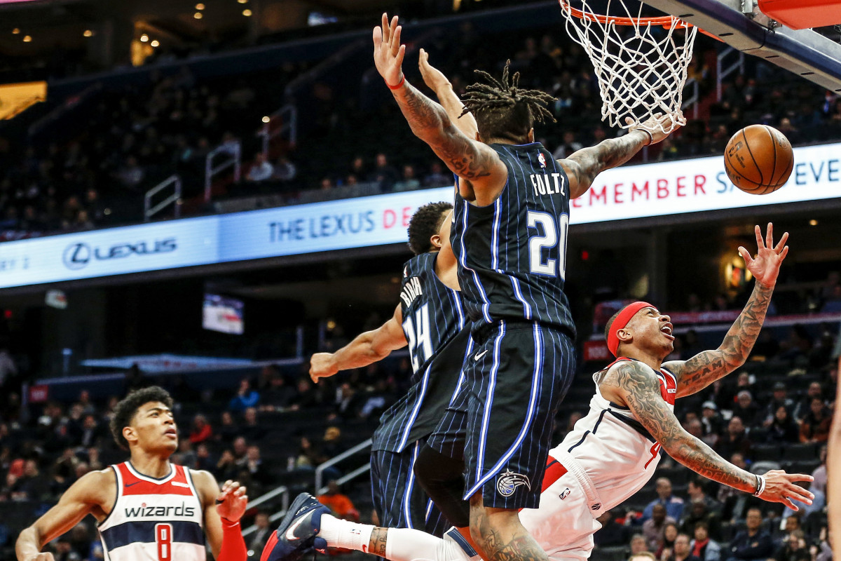 """""""I love what he's about,"""" Brooks says of Thomas, who in Washington hit a career-high 41.3% of his threes."""