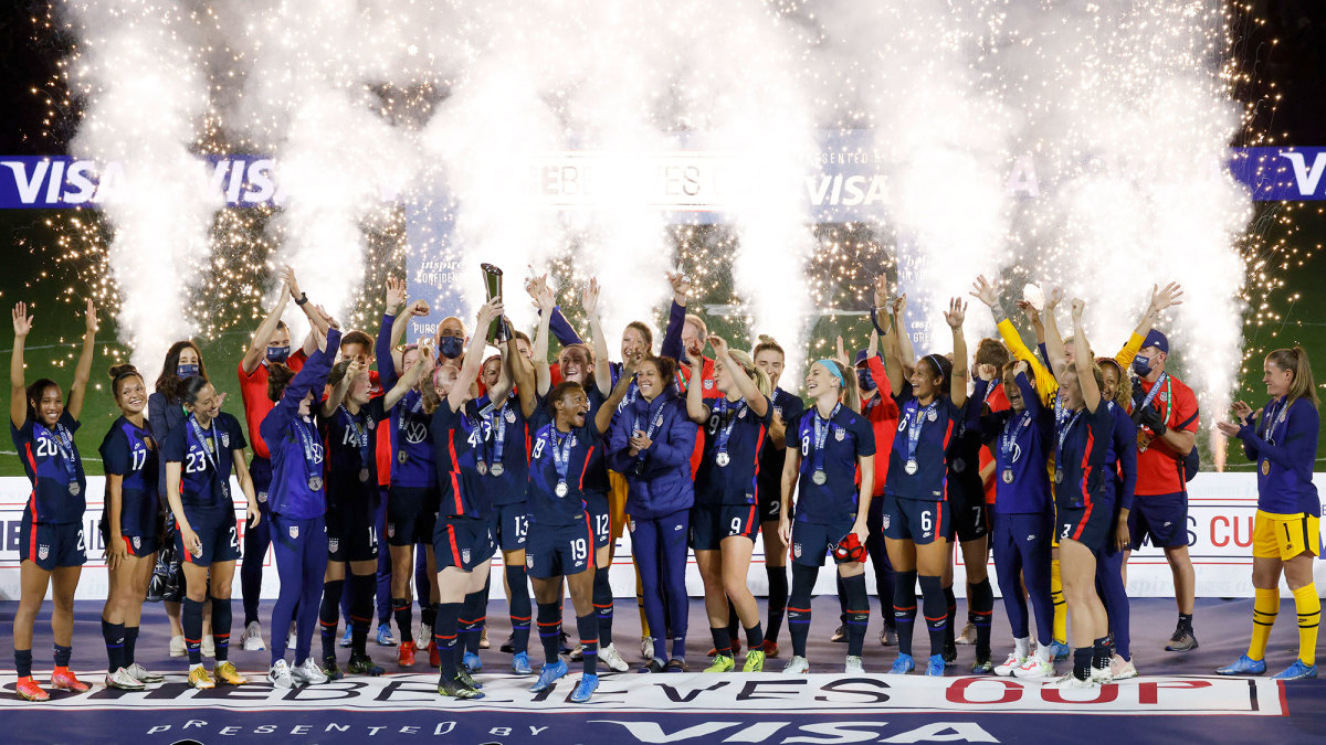 The USWNT wins the SheBelieves Cup