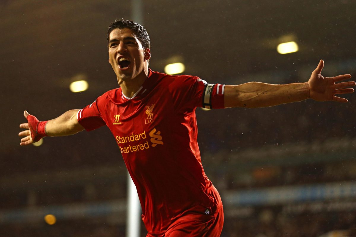 Luis Suarez scored 69 goals during his time with Liverpool FC.