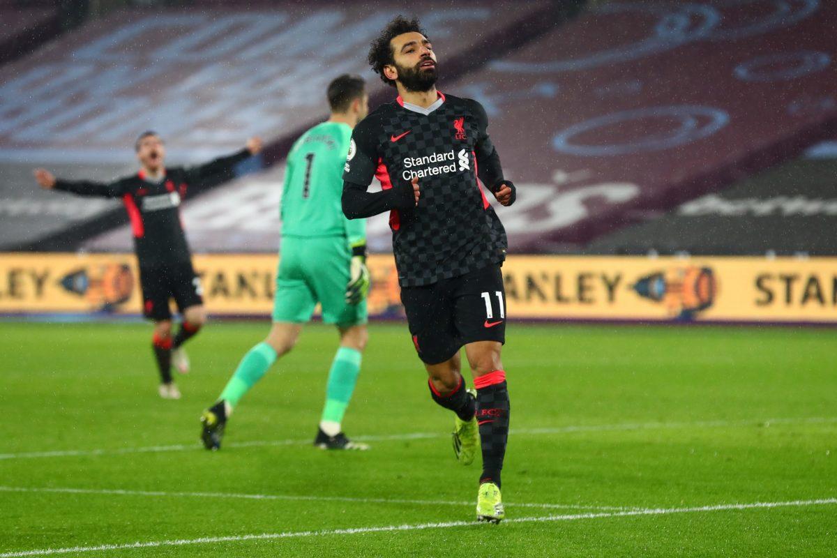 Salah vs West Ham