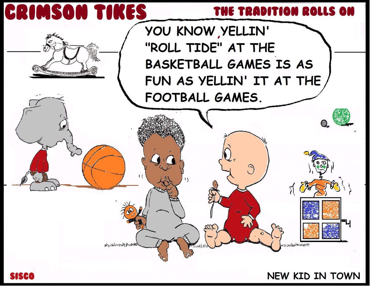 Crimson Tikes: New Kid in Town