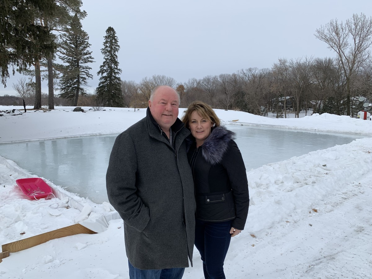 Bruce and Crystal Boudreau