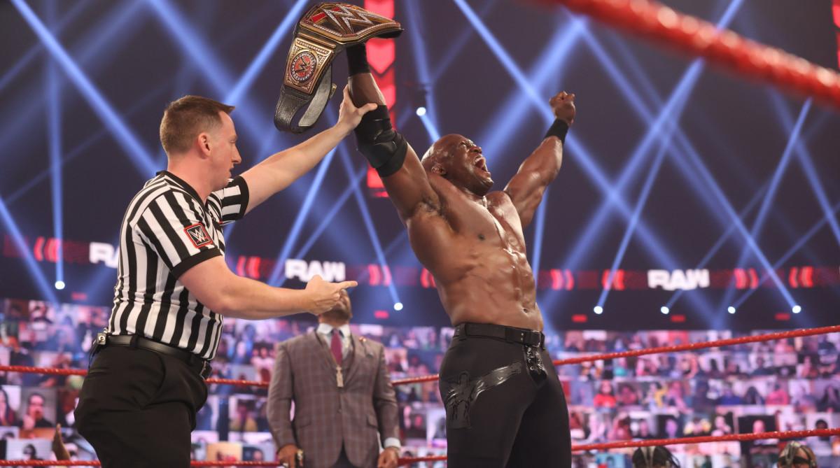 WWE champion Bobby Lashley
