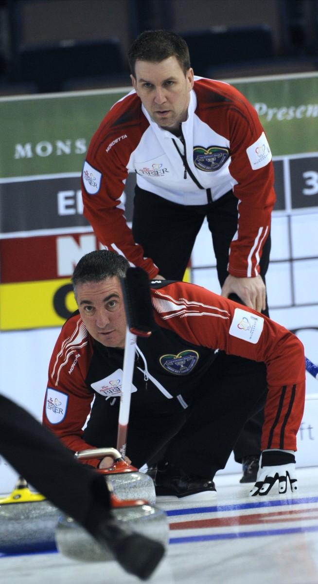 Michael Burns-Curling Canada