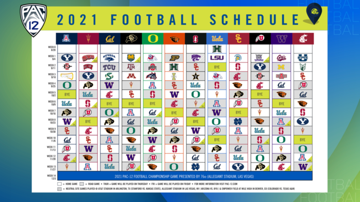 2021 Pac-12 Football Schedule v7