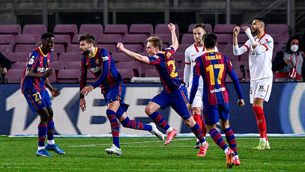 Barcelona Stuns Sevilla With Comeback to Reach Copa Del Rey Final - Sports Illustrated