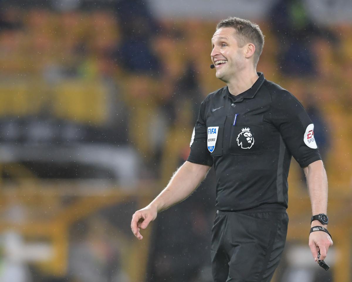 Craig Pawson will officiate the Premier League clash at Anfield.