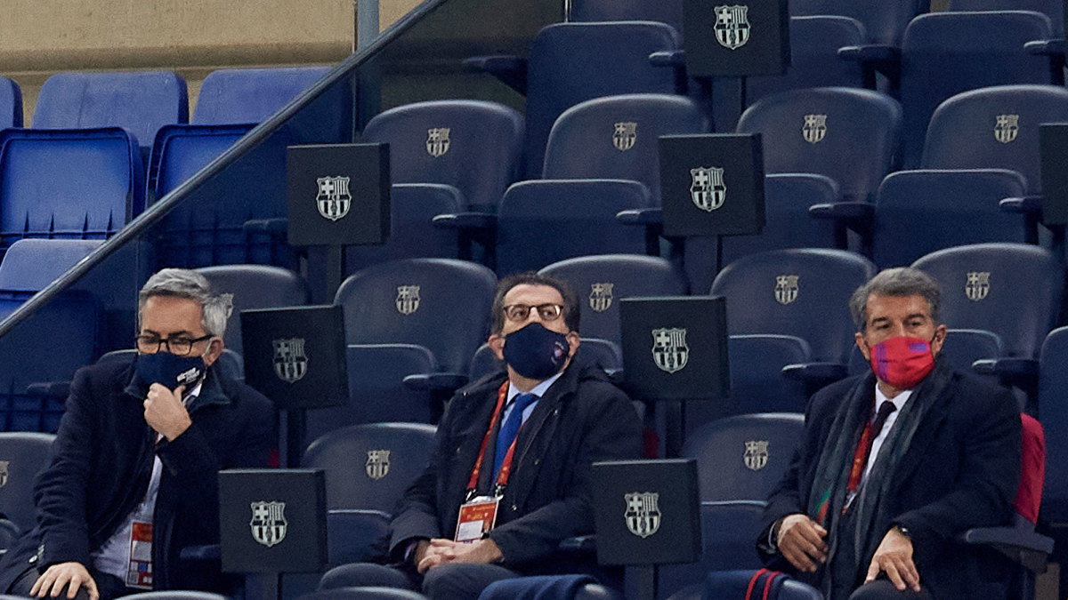 The candidates for Barcelona president