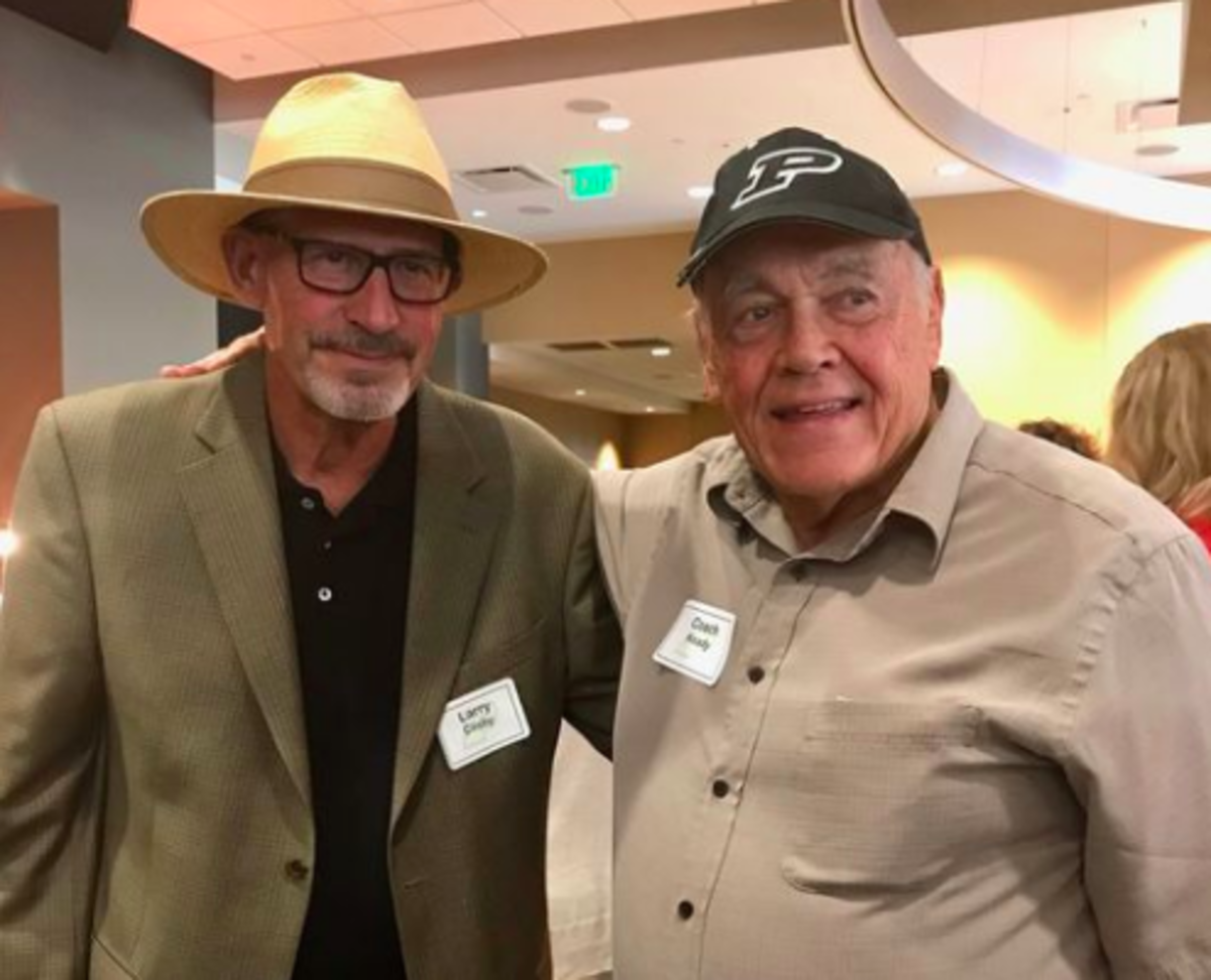 Larry Clisby and Gene Keady were close friends for more than 40 years.