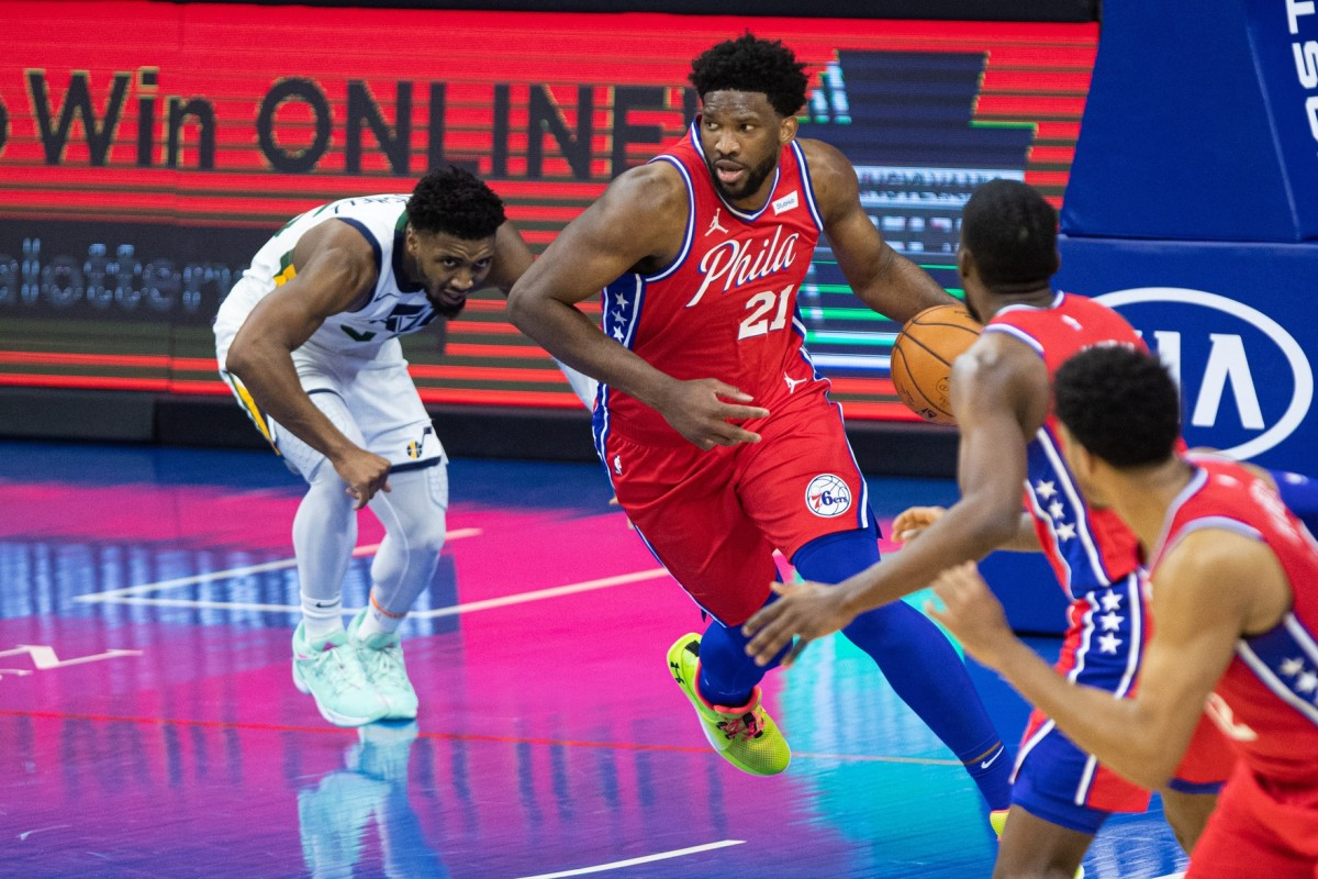 Sixers' Joel Embiid Remains on Top of NBA's MVP Rankings - Sports Illustrated