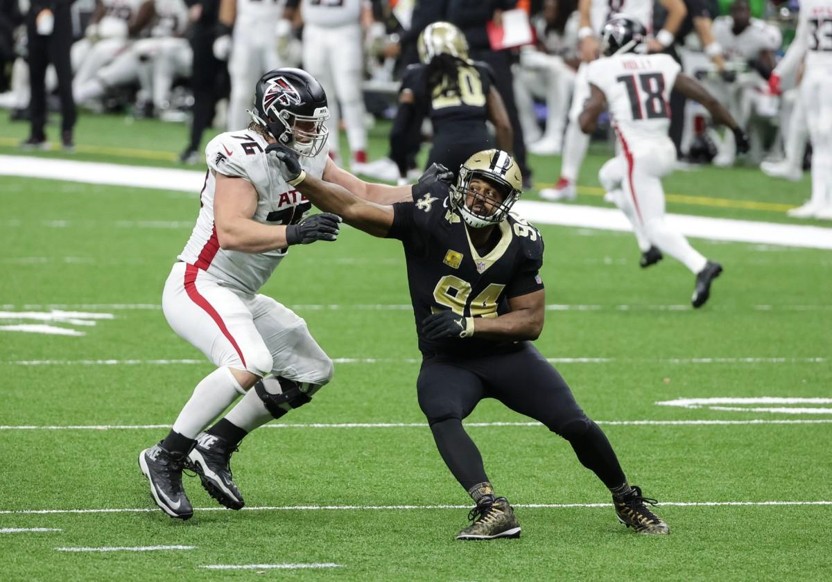 New Orleans Saints defensive end Cameron Jordan (94). Mandatory Credit: Derick E. Hingle-USA TODAY