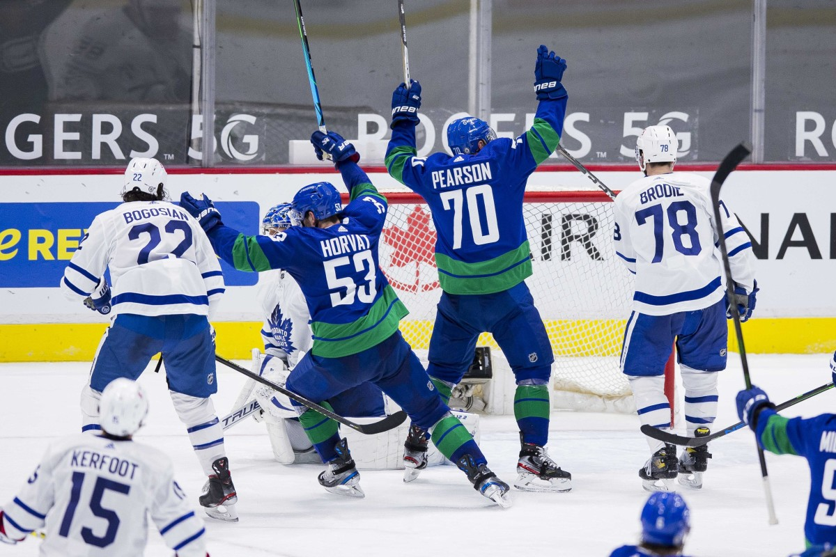 Canucks Provide Leafs Reminder that the Season is far From Over