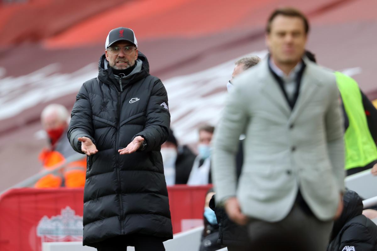 Jurgen Klopp after the Liverpool vs Fulham match on Sunday.