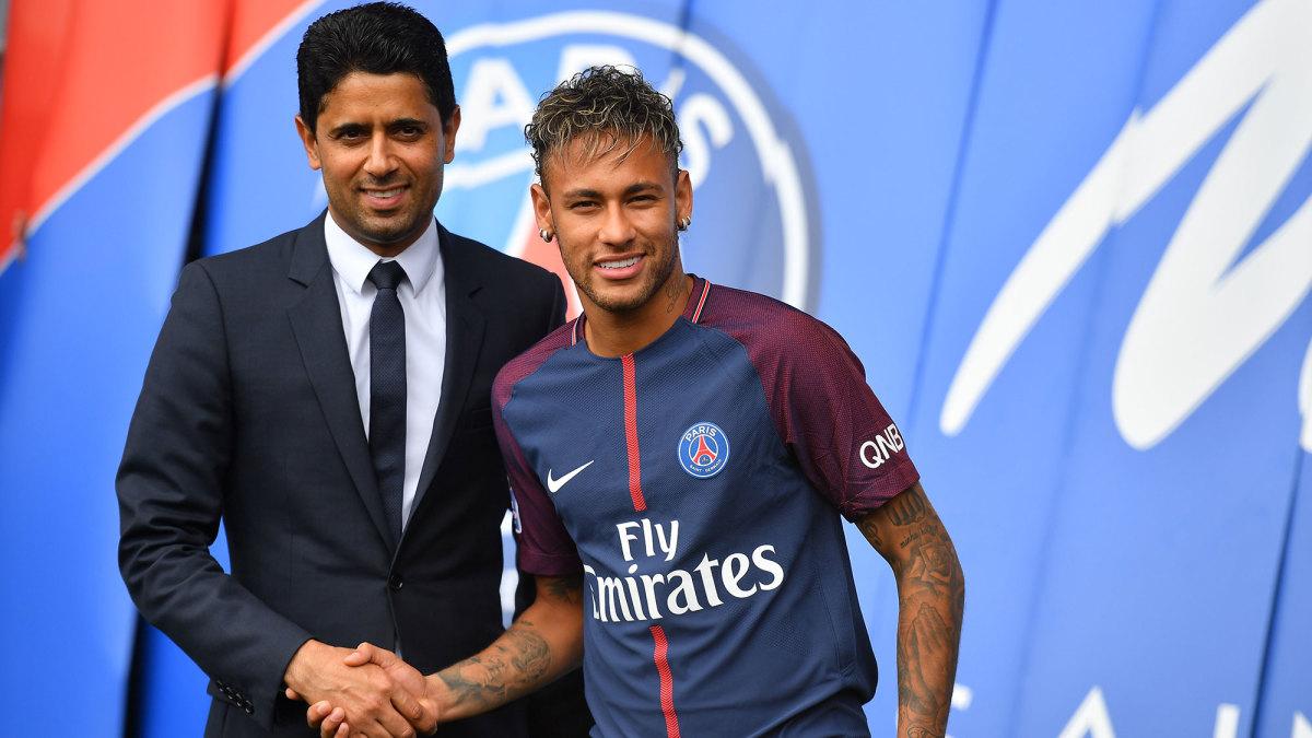 Neymar left Barcelona for PSG in 2017