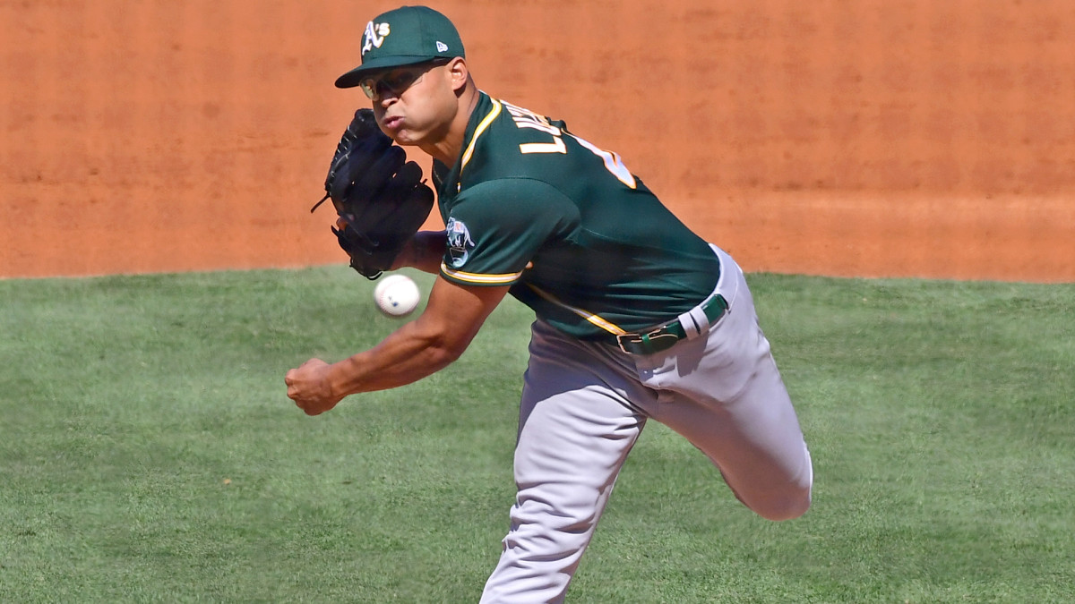 Oakland Athletics Jesus Luzardo