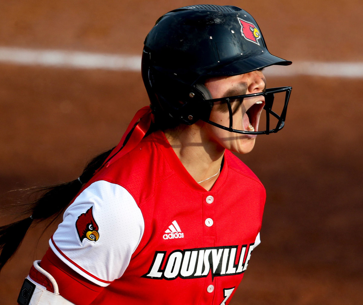 Louisville softball's Celene Funke