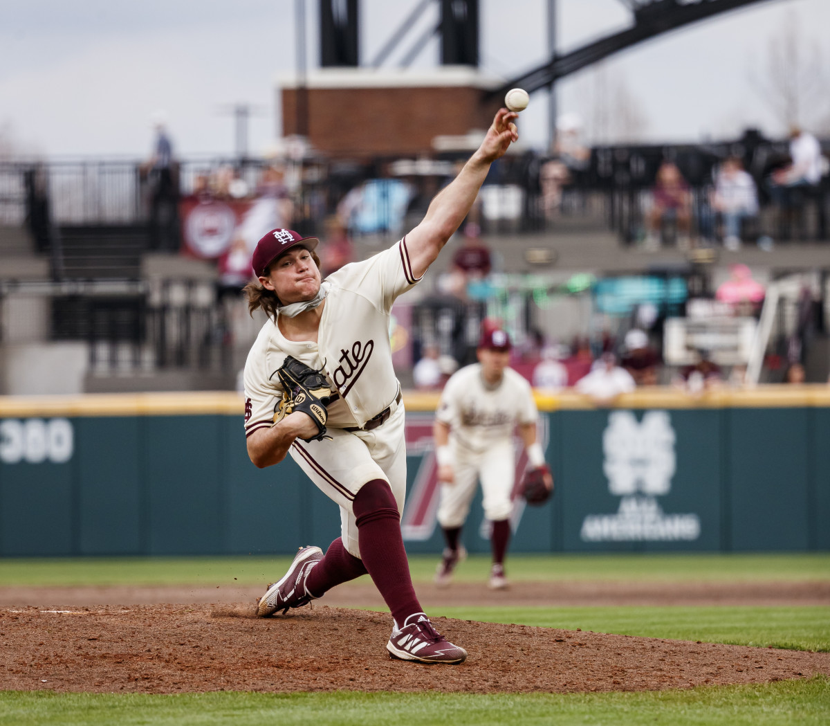Mississippi State's Houston Harding is a candidate to start for the Bulldogs on Saturday. (Photo courtesy of Mississippi State athletics)
