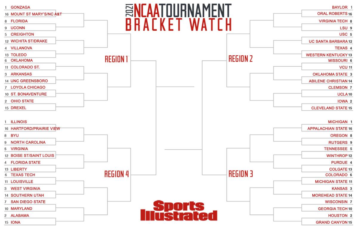 NCAA tournament Bracket Watch March 11