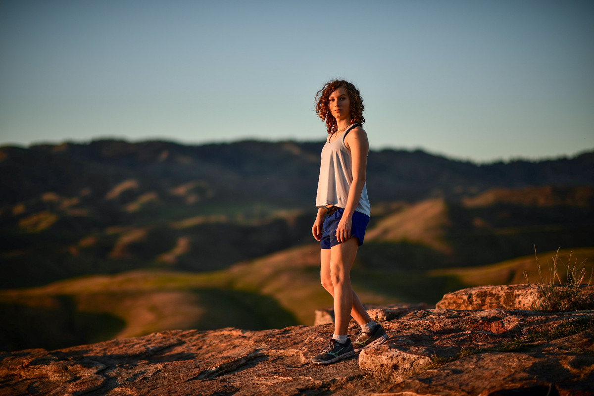 Lindsay Hecox, who would like to run for Boise State's cross-country team, is part of a lawsuit challenging an Idaho law that would prevent her from doing so.