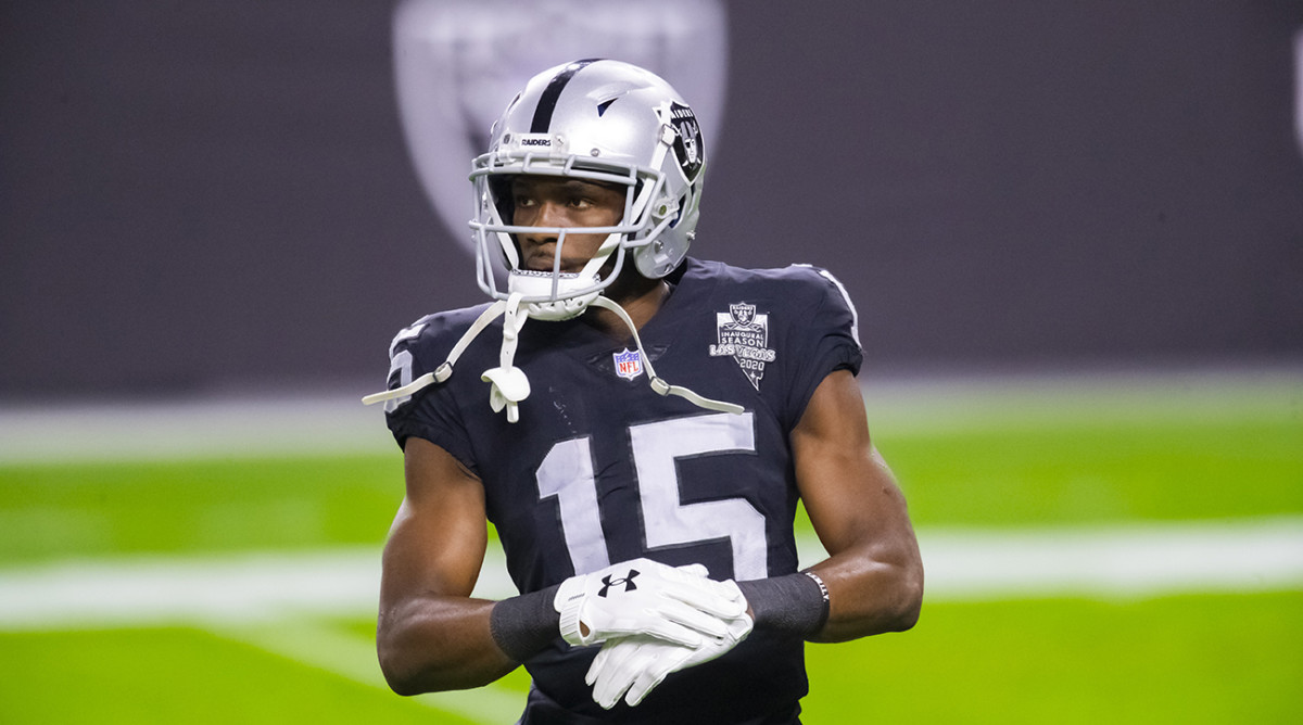 Nelson Agholor with the Raiders.