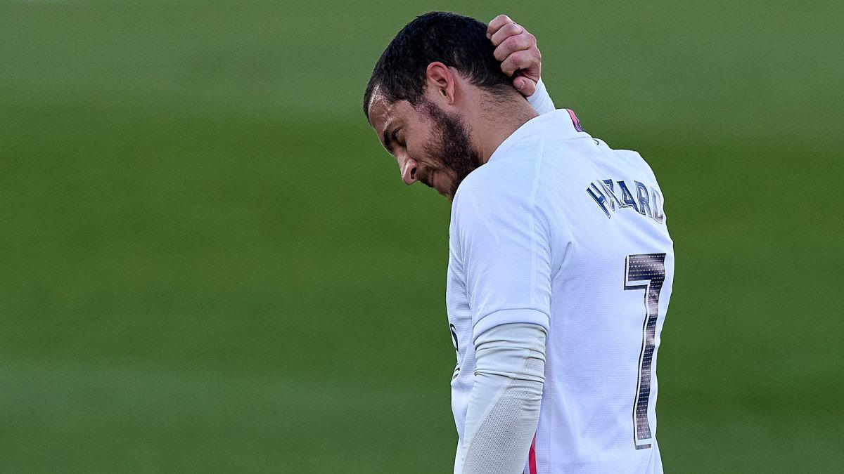 Eden Hazard is injured again for Real Madrid