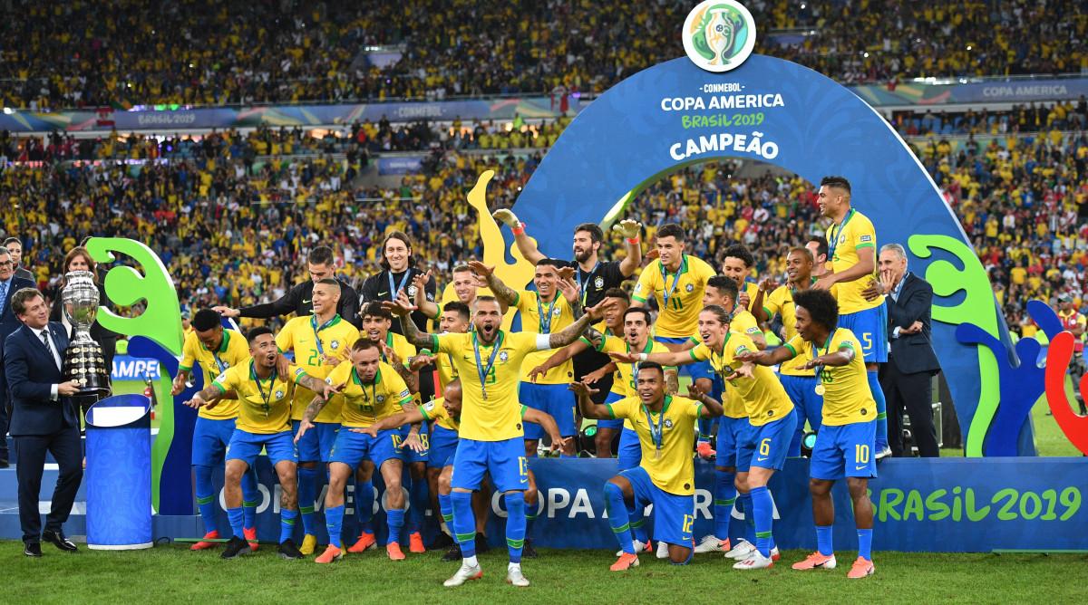Copa América to Go Forward With 10 Teams