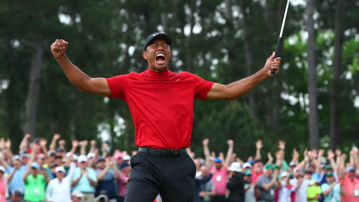 Tiger Woods signs deal with'PGA Tour 2K' franchise thumbnail