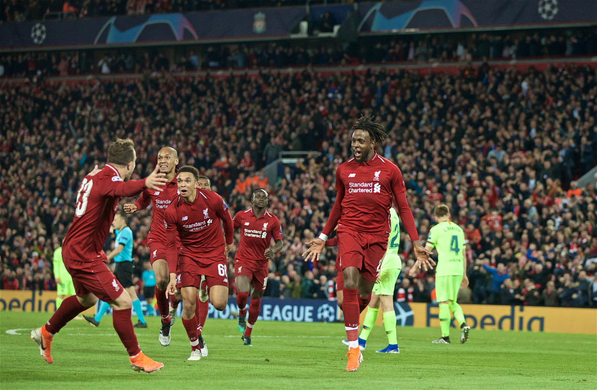 Origi played a pivotal role in Liverpool's 2018/19 Champions League success