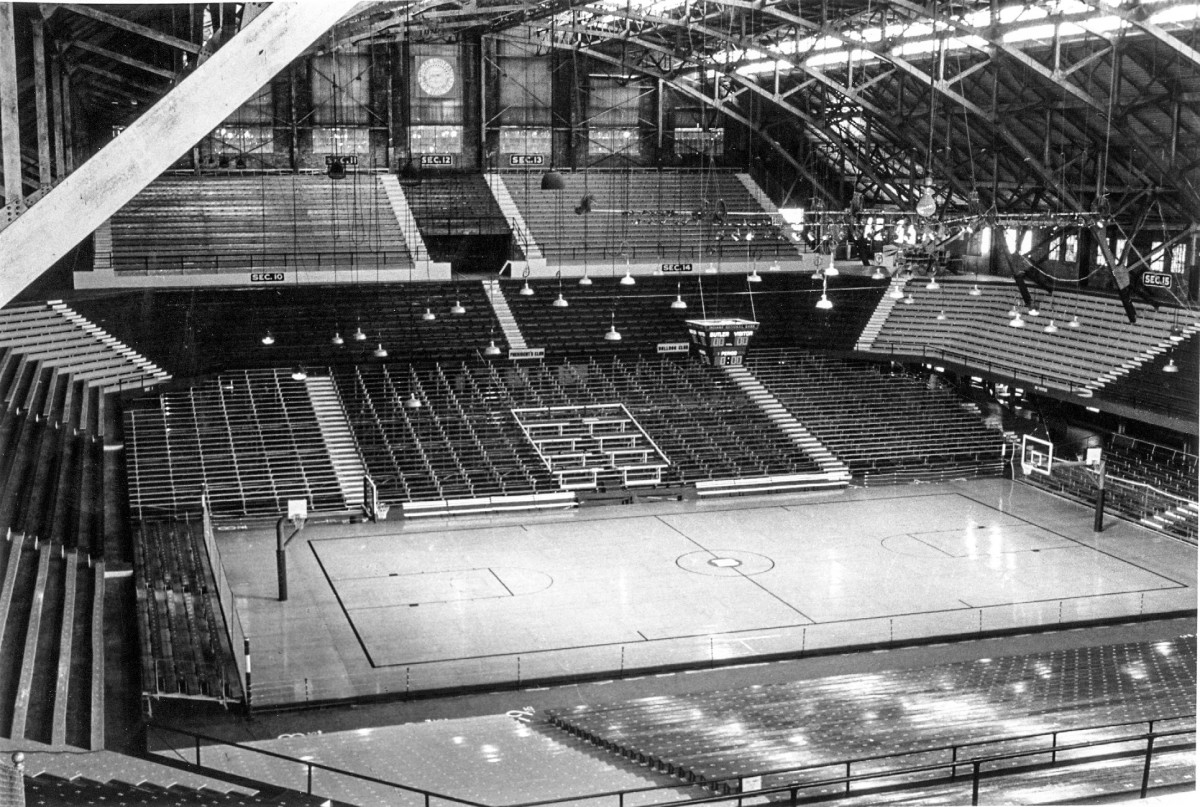 The Butler Fieldhouse, which opened in 1928, hosted many of Indiana's iconic basketball games, including the 1930 state final.