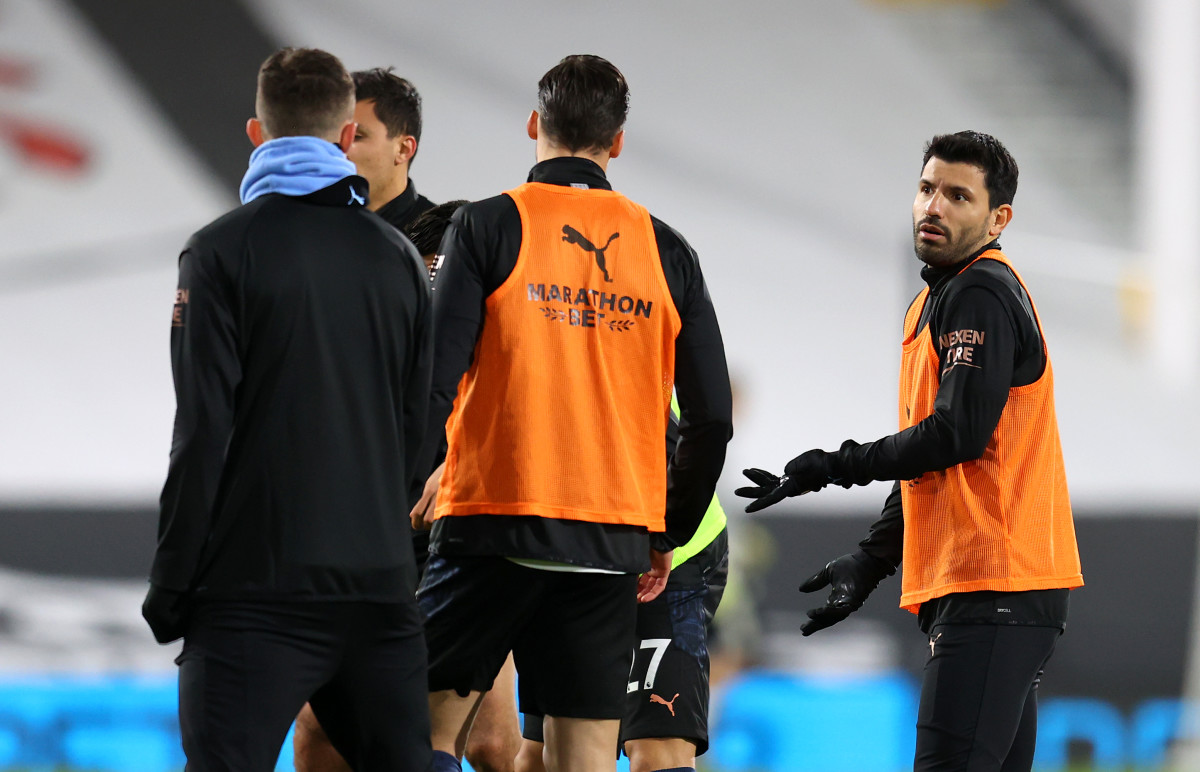 """""""Irreplaceable in the souls, and in the hearts..."""" - Pep Guardiola provides first reaction to Sergio Aguero's Man City departure - Sports Illustrated Manchester City News, Analysis and More"""