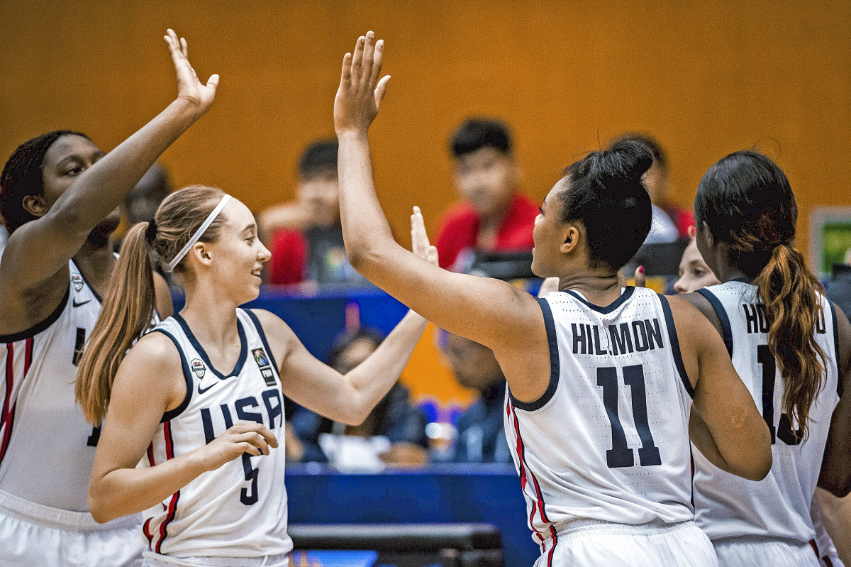 Boston, Bueckers, Hillmon and Howard jelled at the 2019 U-19 championships in Bangkok.