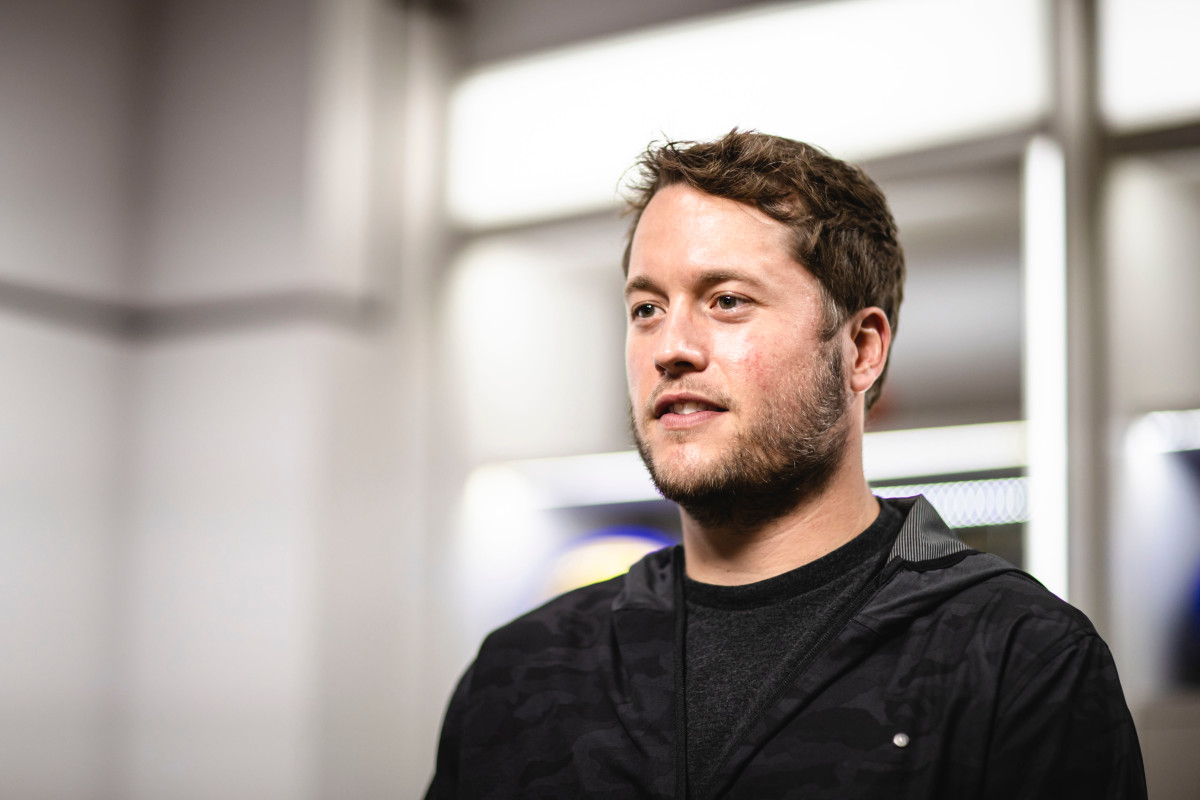 Matthew Stafford/Courtesy of the Los Angeles Rams