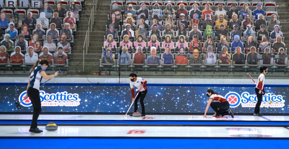 Sensory Deprivation Curling At Its Finest
