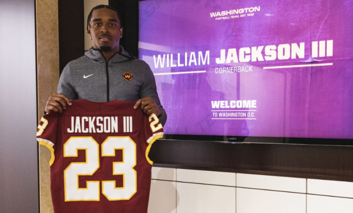 William Jackson III Gets New Number, Now Needs To Get Something ...