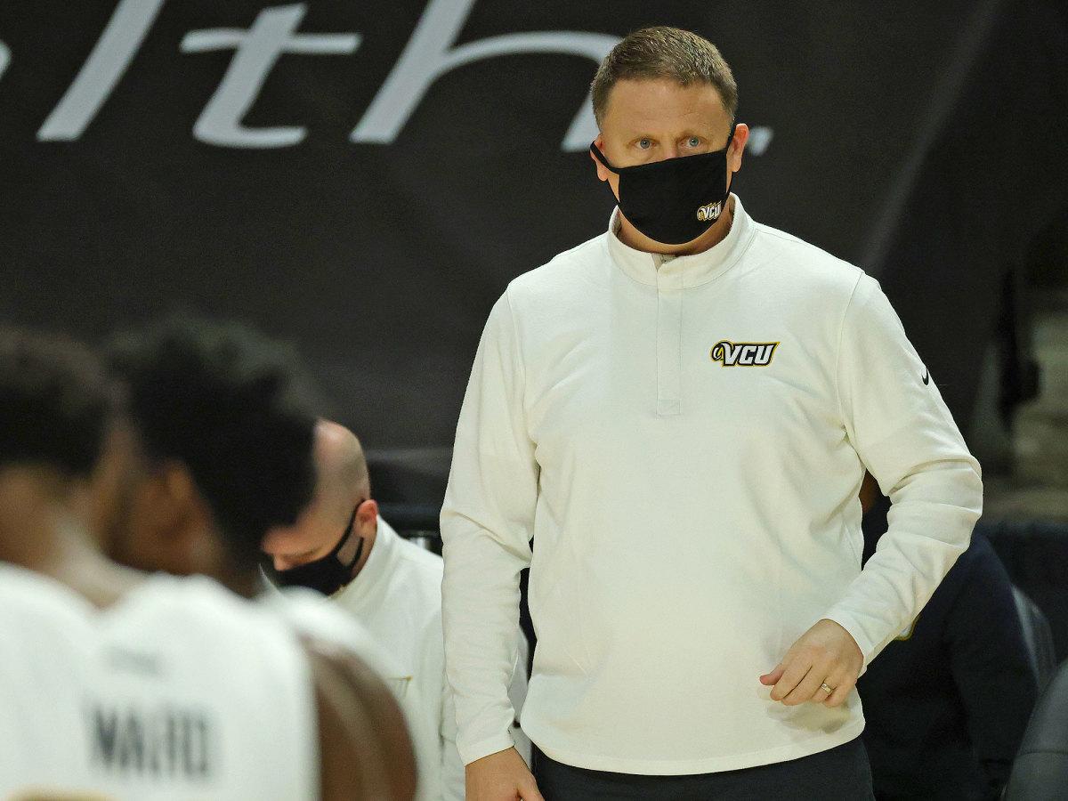VCU coach Mike Rhoades