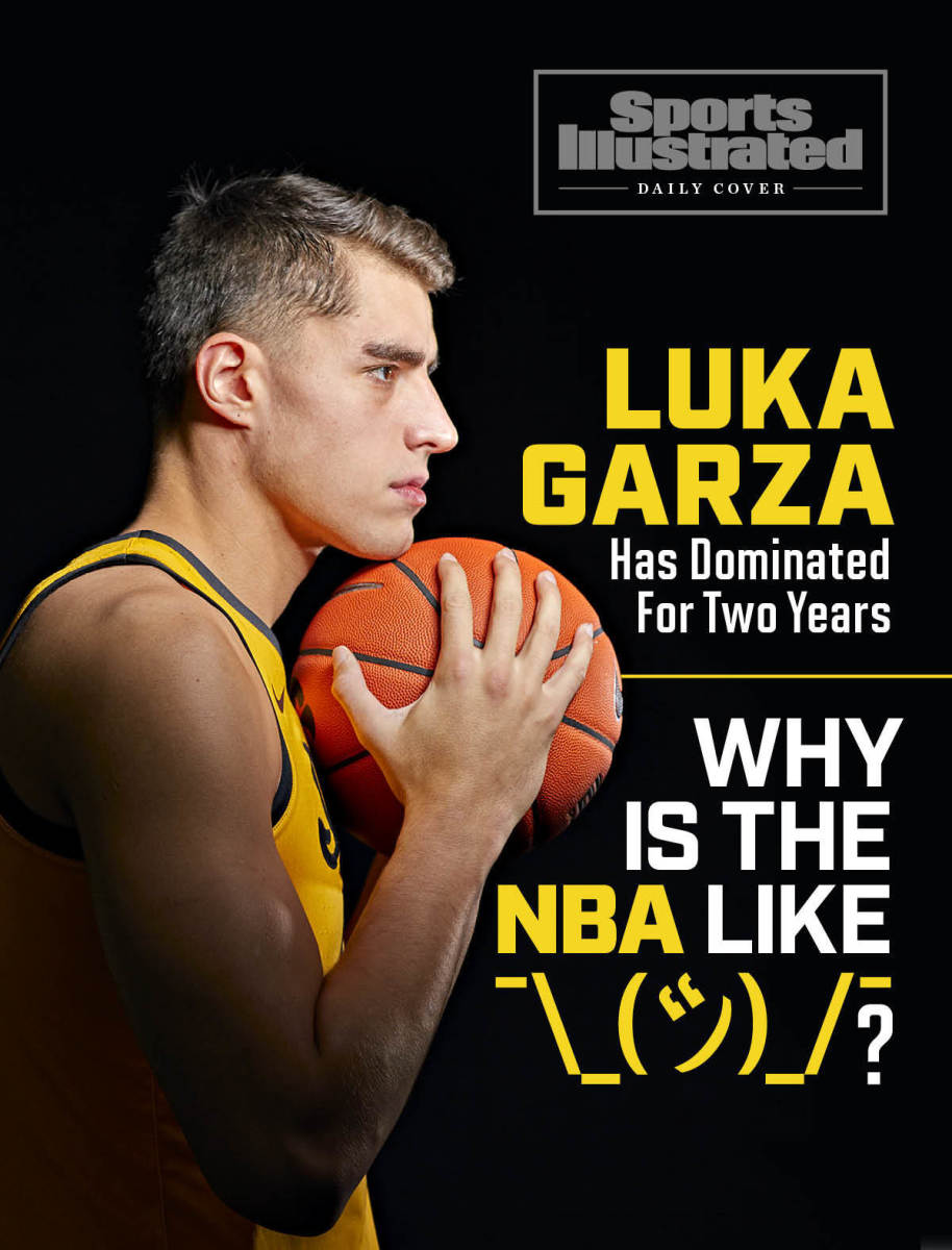 Luka Garza Has Dominated for Two Years. Why Is the NBA Shrugging?