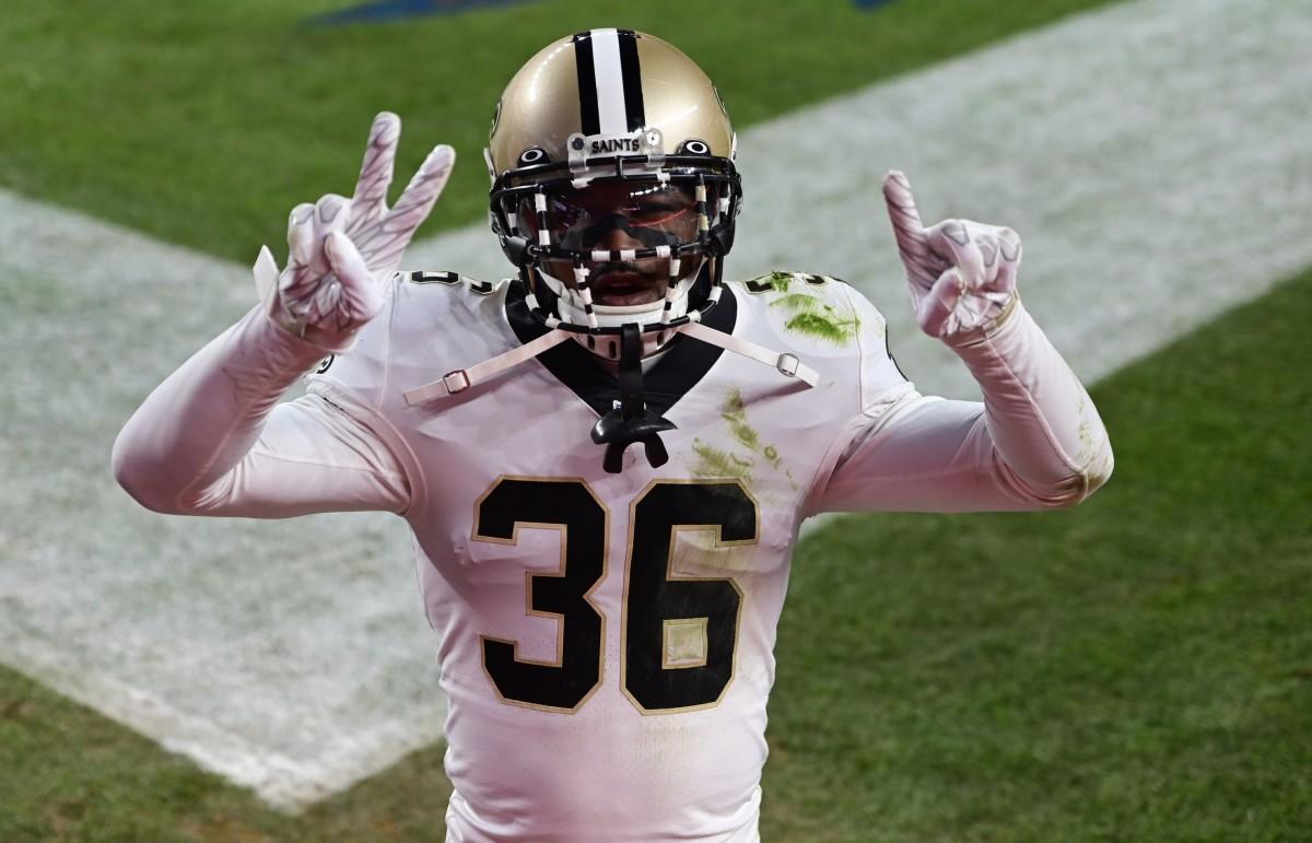 New Orleans Saints free D.J. Swearinger (36). Mandatory Credit: Ron Chenoy-USA TODAY Sports