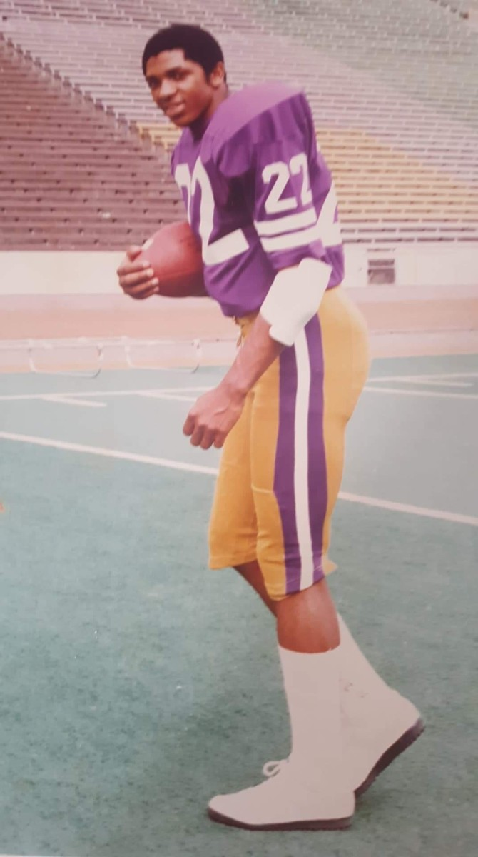 Sterling Hinds came from Canada to play at the UW.